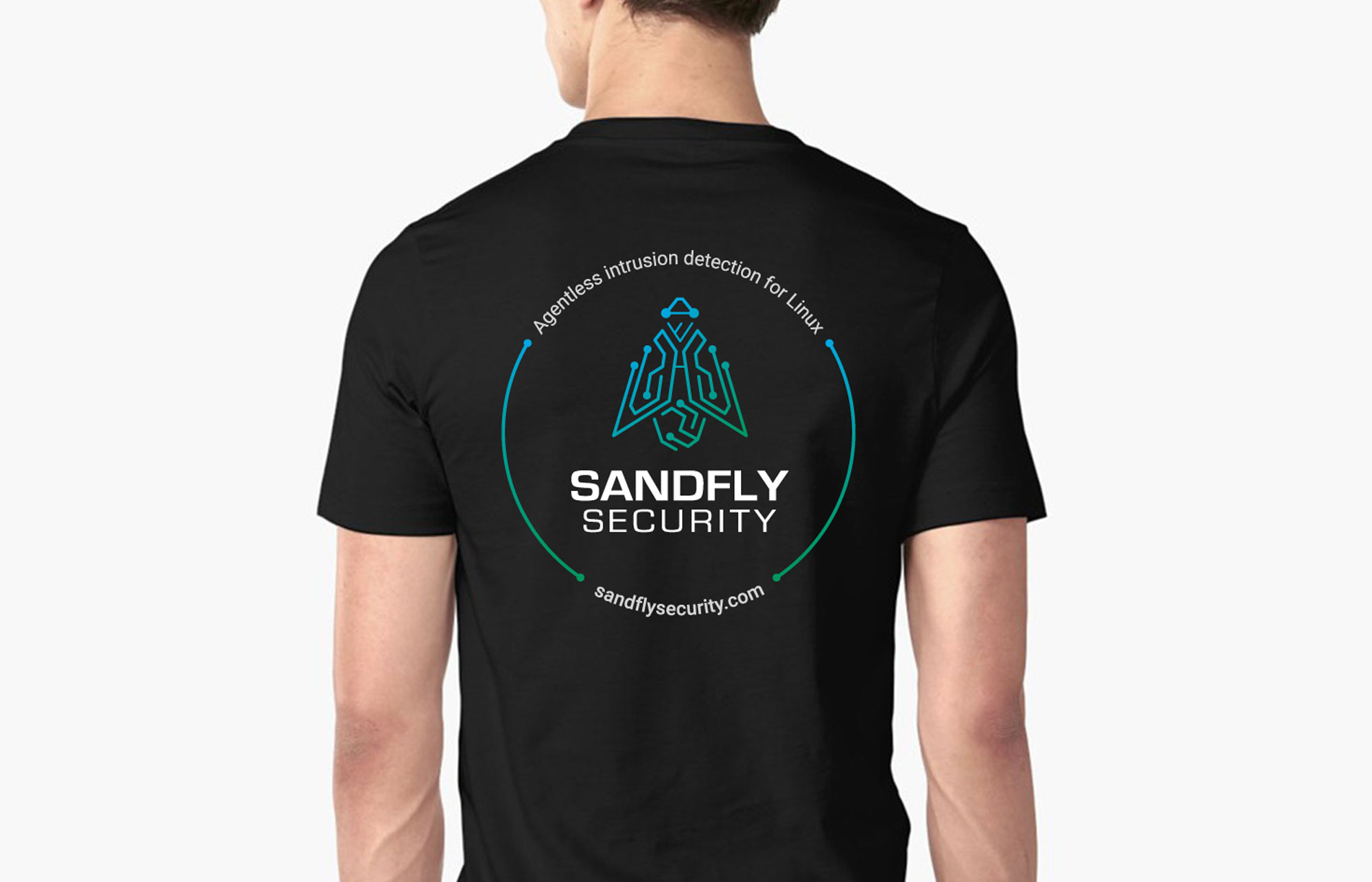 Sandfly Security T-Shirt, Stimulus Creative